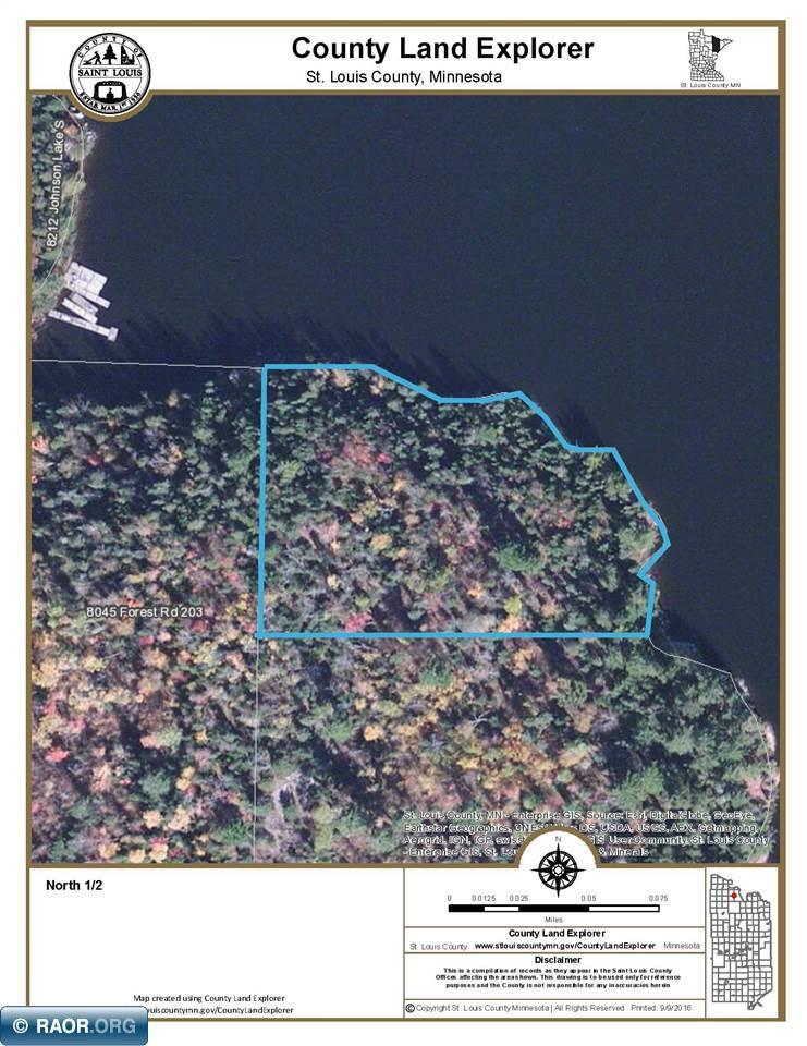 TBD N Johnson Lake Orr MN MLS BIC Realty - Johnson lake map