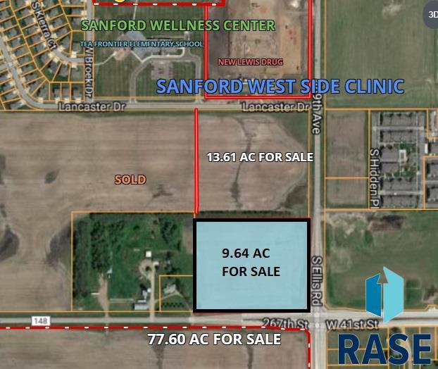 41st Street and Tea/Ellis Rd, Sioux Falls, SD 57106