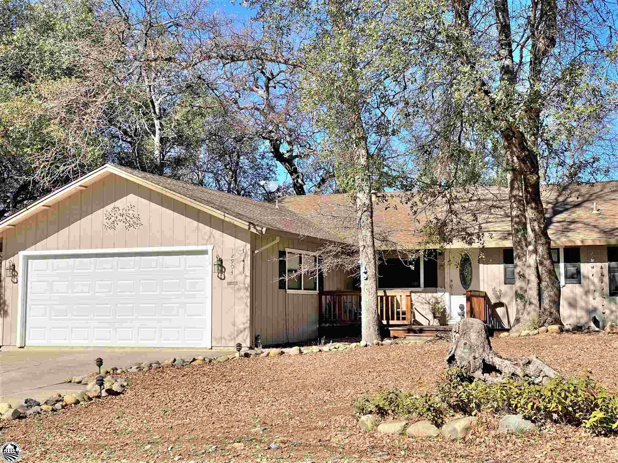 "Fall in Love with Your New Home!  This ""Picture Purr-fect"" single level home will capture your heart. No stairs to climb, a level driveway and a dreamy interior. Subtle paint colors make decorating easy. One glance as you enter prepares you for what is inside.. A sparkling kitchen with breakfast/office area, granite counter tops, tons of cabinets and a look over the breakfast bar to dining and living spaces. The efficient and attractive free standing gas fireplace with river rock hearth is an added benefit. Easy access to the rear decking through French doors. The spacious master bedroom is down the hall with access to the deck. It boasts of a large dressing area with mirrored double closets and separate ""bath facilities w/ shower"". Guest b"