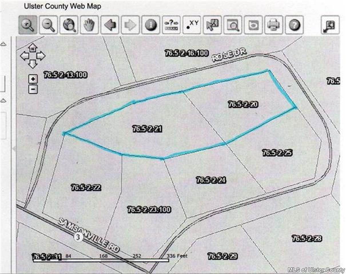 Single Family Home for Sale at Lot 20,21 Rose Drive Lot 20,21 Rose Drive Kerhonkson, New York 12446 United States