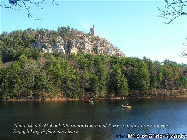 Thousands of pristine acres just minutes away at the Mohonk Preserve-enjoy hiking trails and views!