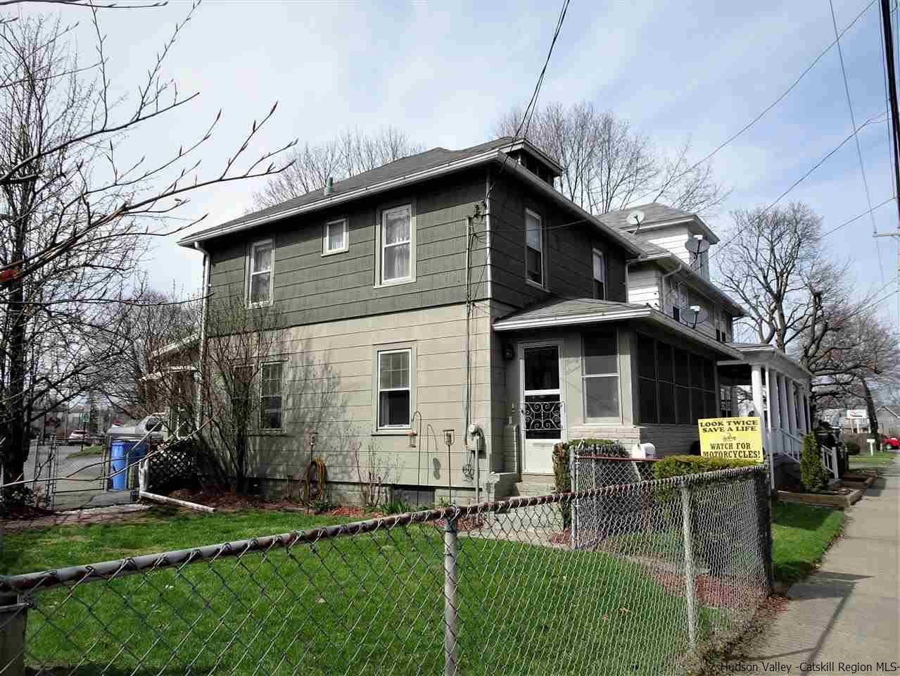 Single Family Home for Sale at 37 Boulevard 37 Boulevard Kingston, New York 12401 United States