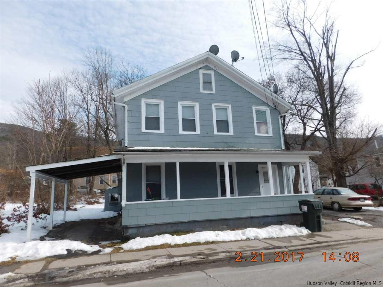Two Family for Sale at 32 Clinton Avenue 32 Clinton Avenue Ellenville, New York 12428 United States