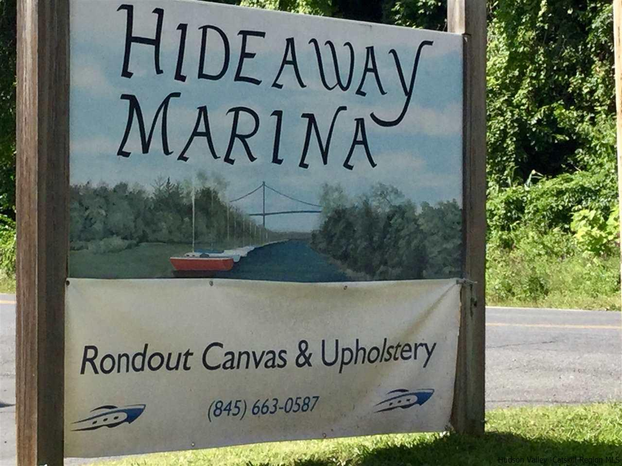 Short drive from Riverside condos to the Marina  where you can sail off into the Hudson River