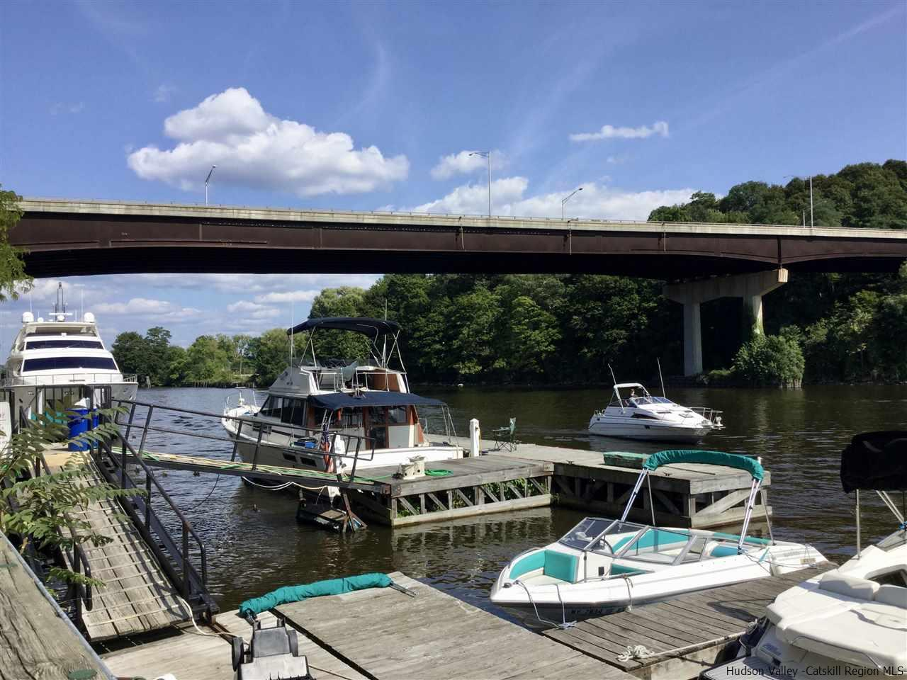 Historic Rondout    a favorite spot for Boaters sailing the HUDSON RIVER