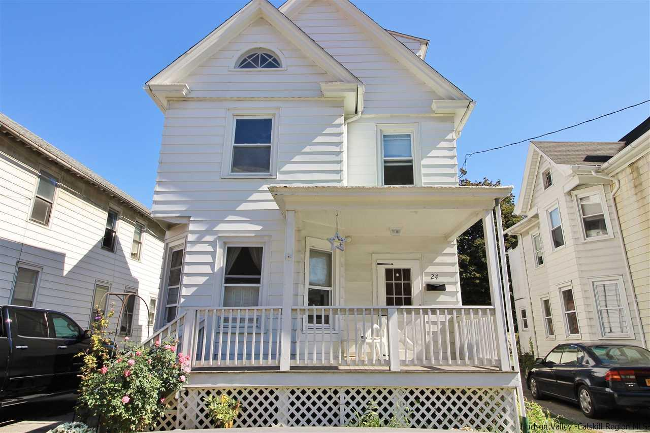 Single Family Home for Sale at 24 Andrew Street 24 Andrew Street Kingston, New York 12401 United States