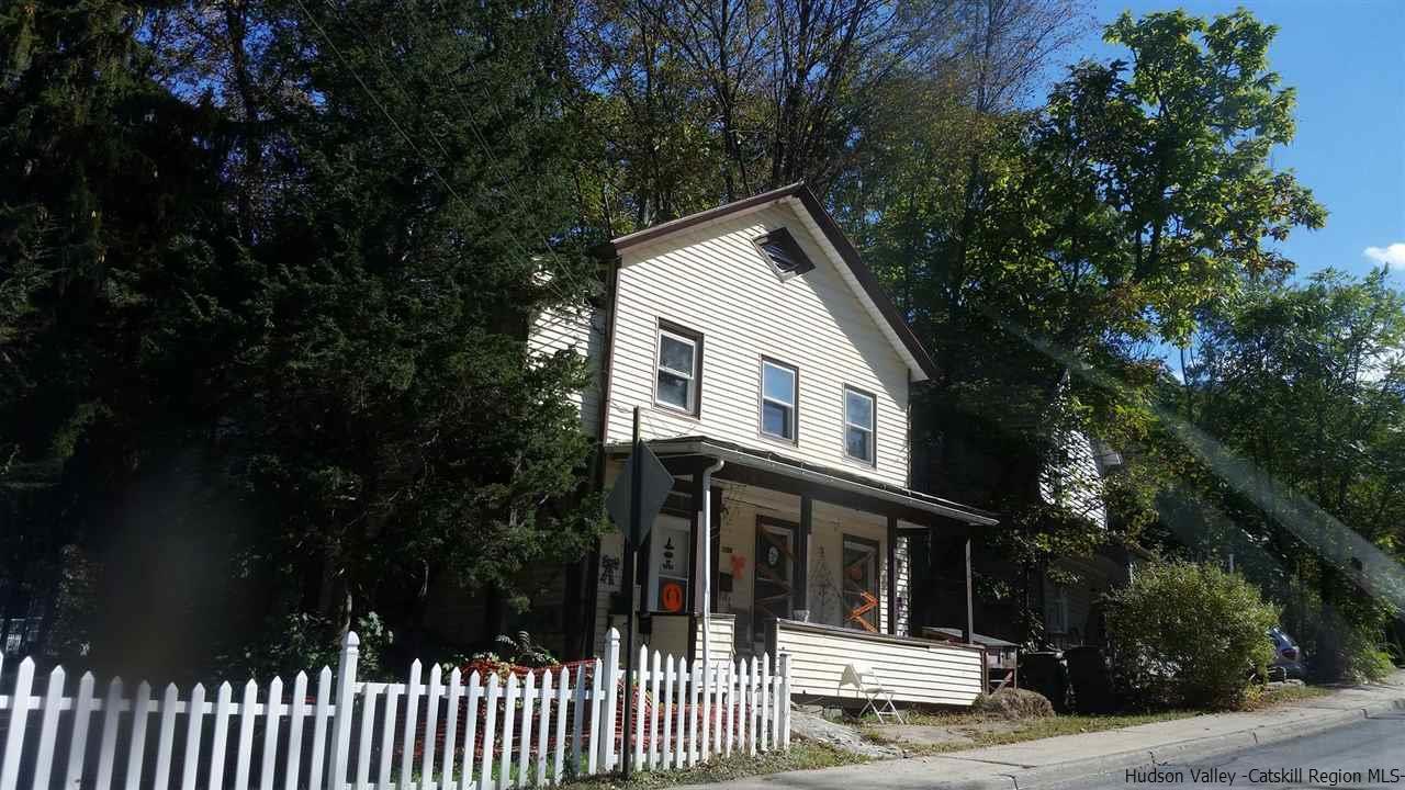 Two Family for Sale at 186 Center Street 186 Center Street Ellenville, New York 12428 United States