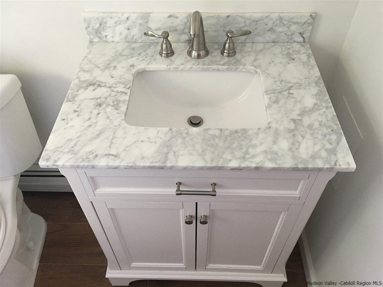 Beautiful Carrara Marble Vanity Top