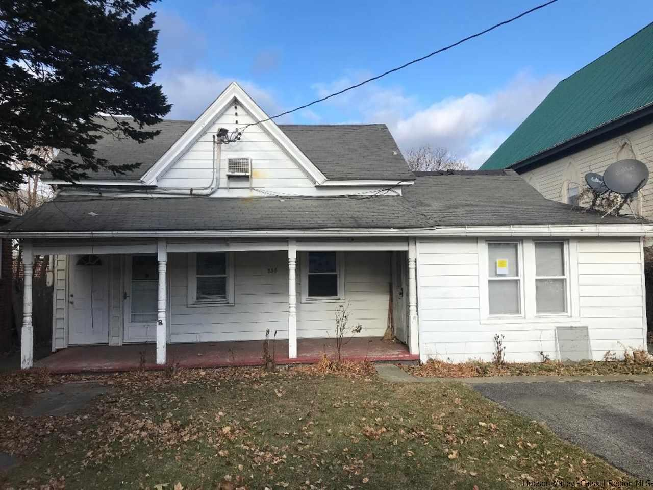 Two Family for Sale at 238 Delaware Street 238 Delaware Street Glasco, New York 12432 United States