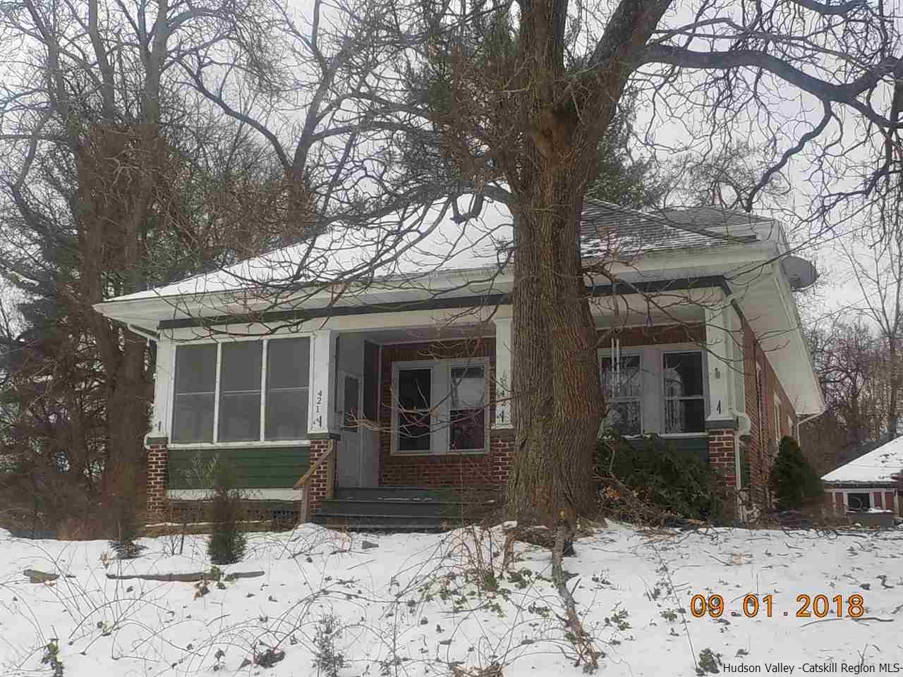 Single Family Home for Sale at 421 Route 212 421 Route 212 Saugerties, New York 12477 United States