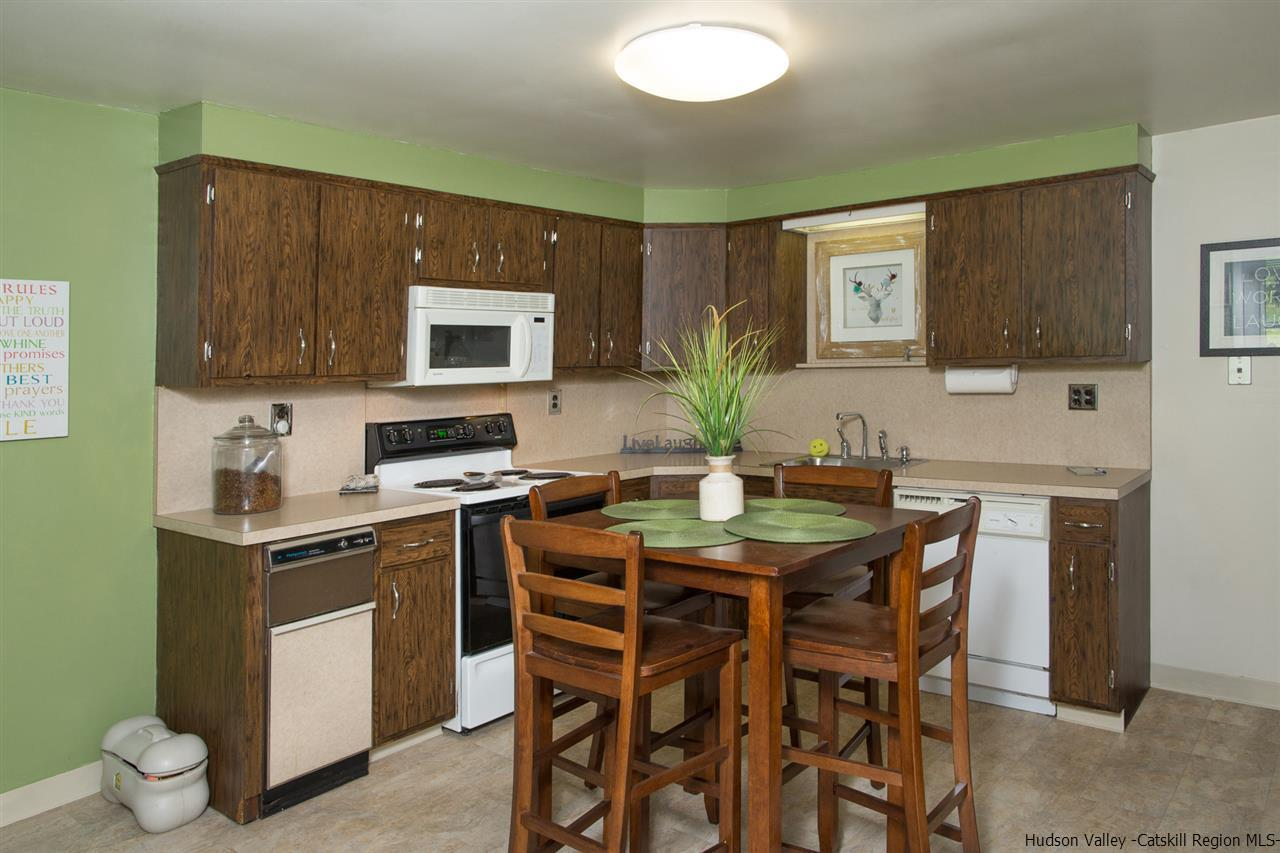 One of the kitchen apartments in the 3 family property.