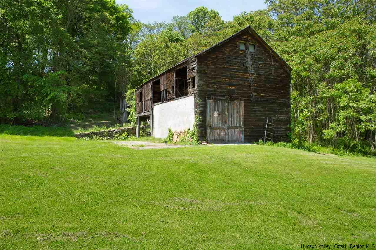 Barn is being sold as is.