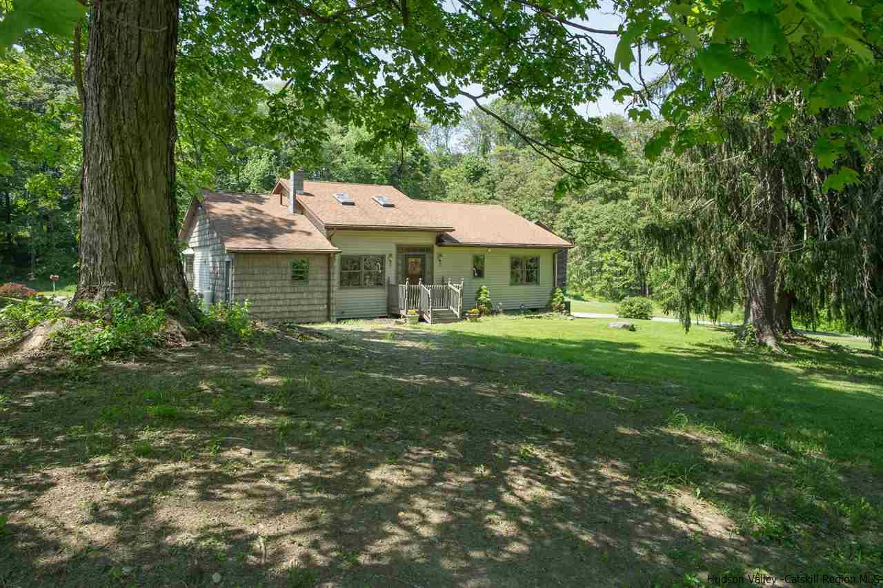 View of Single family Ranch sited on 16 tranquil acres.