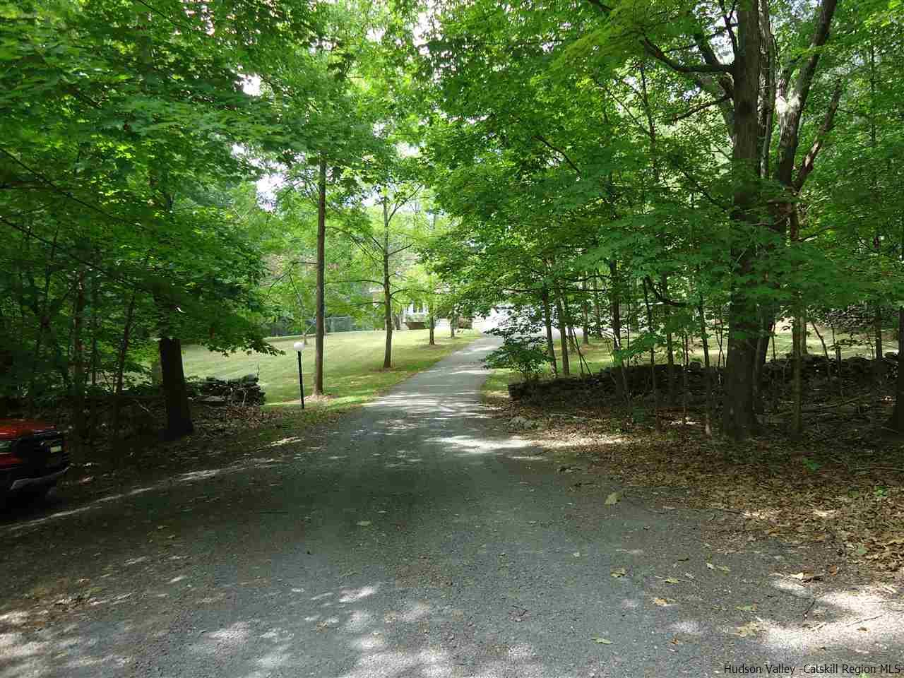 Long Driveway to private home