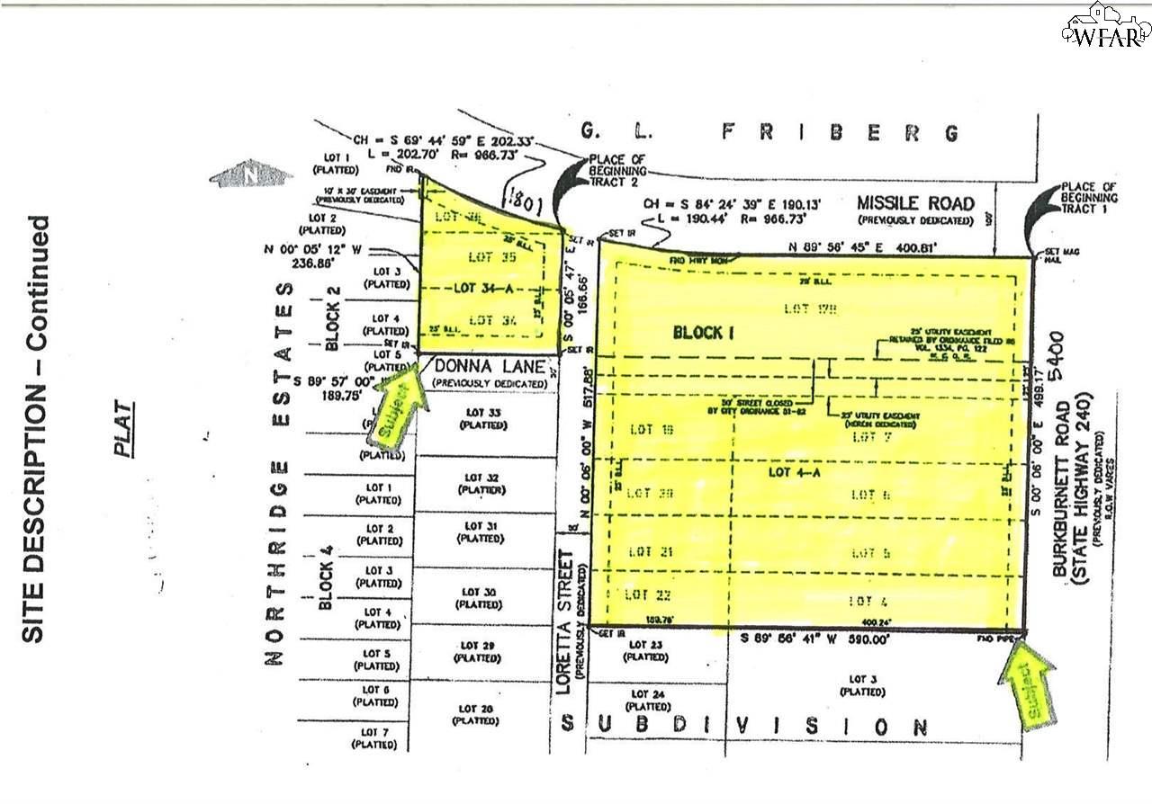5400 BURKBURNETT ROAD 1801 Missile Road, Wichita Falls, TX 76306