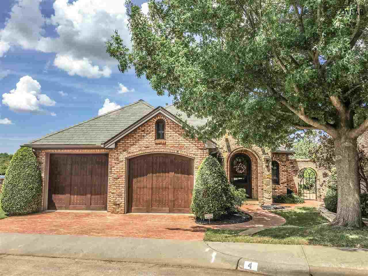 4 CHATEAU COURT, Wichita Falls, TX 76302