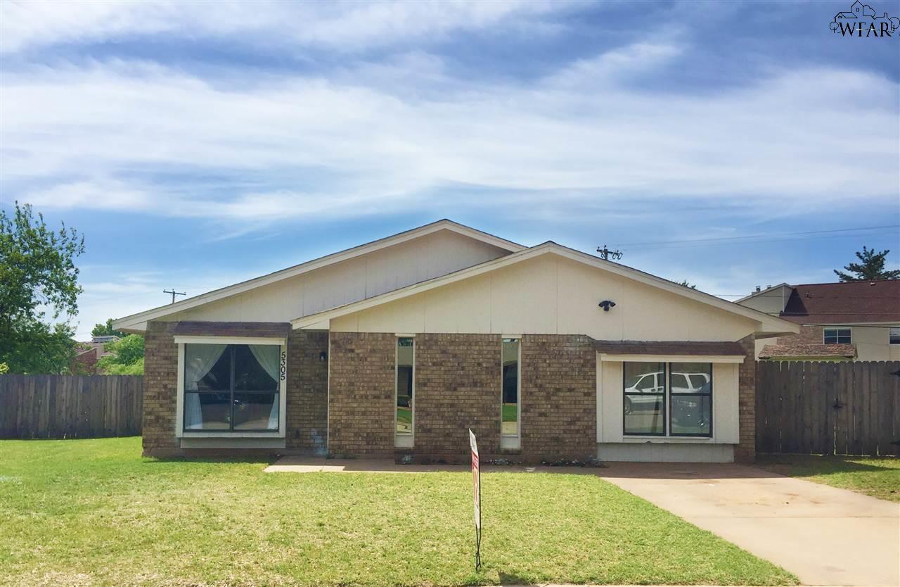 5305 MONTREAL DRIVE, Wichita Falls, TX 76310