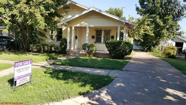 2005 FILLMORE STREET, Wichita Falls, TX 76308