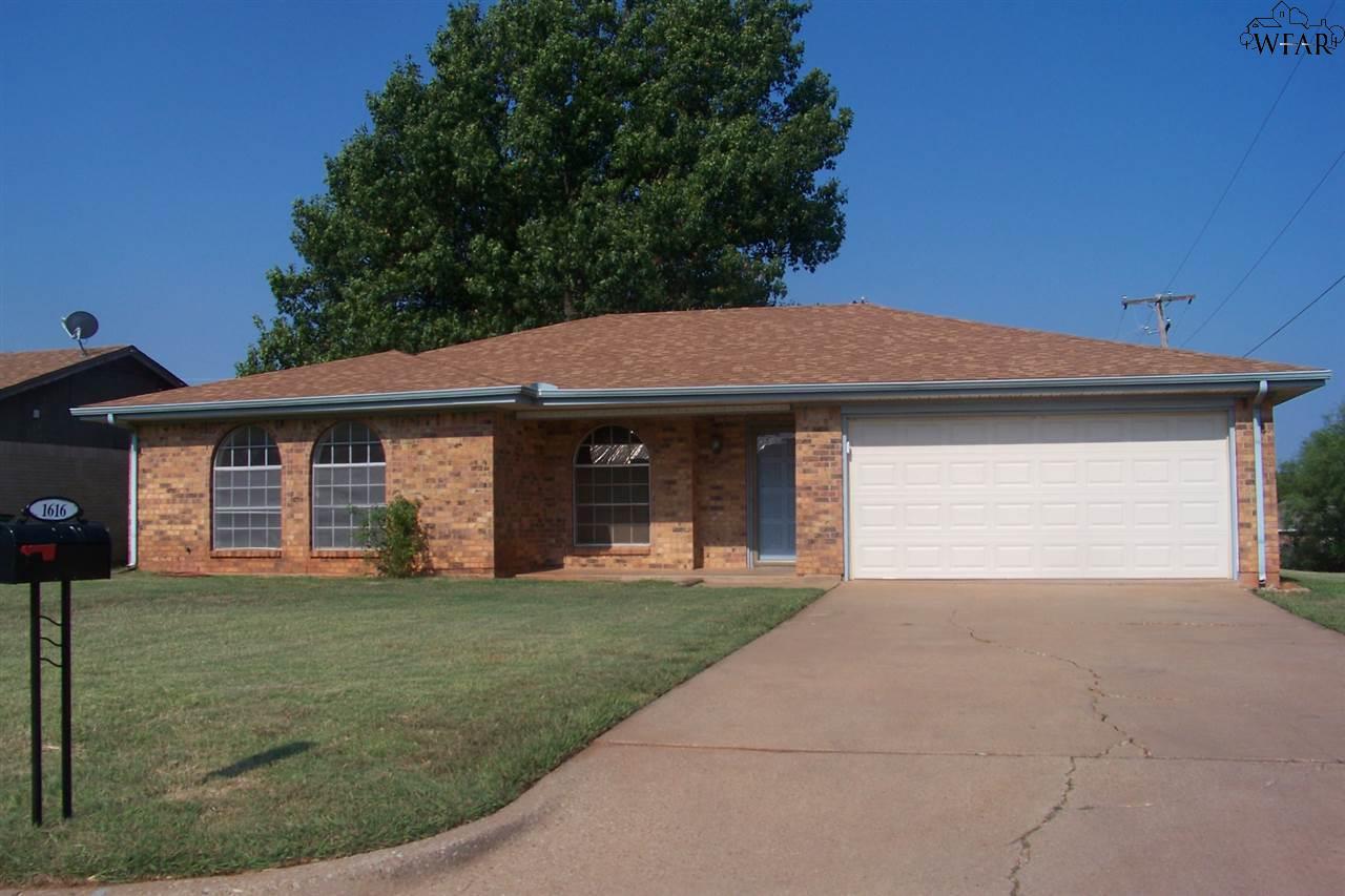 1616 KAREN LANE, Iowa Park, TX 76367