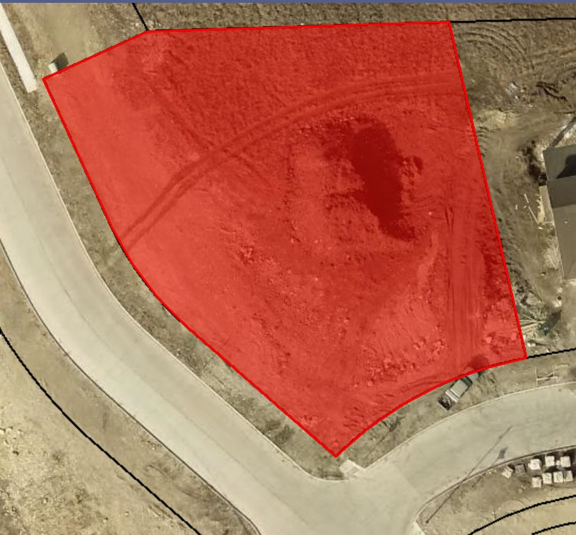 Lot overlooking Hole #10 Colbert Hills Golf Course Estimated specials to be $3405.85