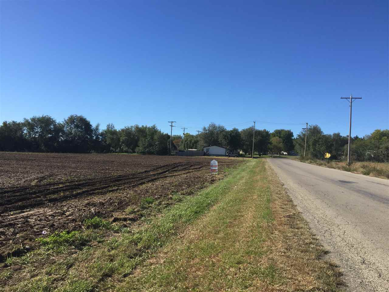 Flat land, close to Airport, close to Hwy 77.  Great spot for Mobile Home Park, Storage Units, Tiny Home development,  Crops belong to farmer.