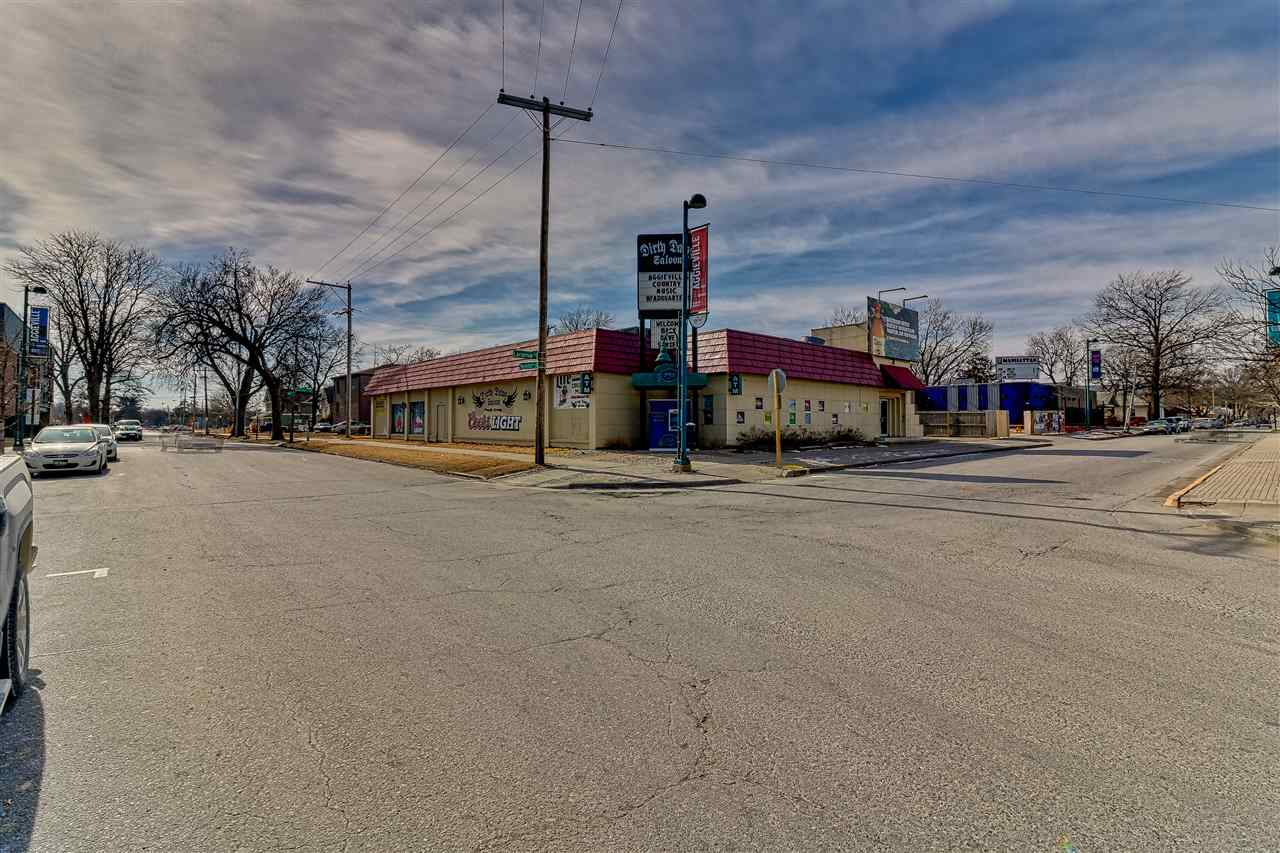 In the heart of Aggieville, premiere corner lot location. 6400 SQ FT building. City parking lot next door, extremely high traffic and visibility. Impeccable rental history. One block from KSU. This location is perfect for both retail and entertainment.
