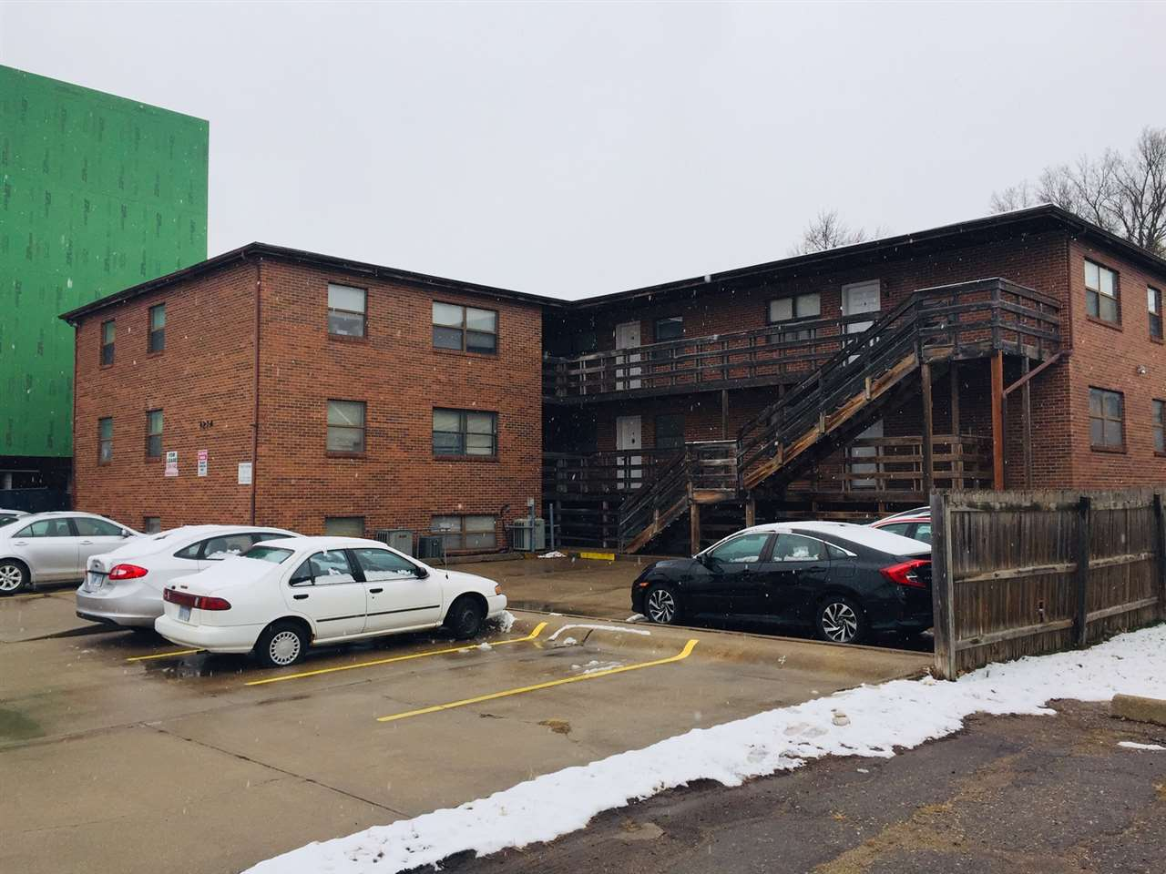 Here is your chance to own a great investment property in a prime location right next to Kansas State University and Aggieville. 11 units are 3 Bed 1.5 Bath.  The other unit is 2 bed 1.5 bath.  Owner pays water and trash, tenants pay electric.  Each unit has a separate meter.