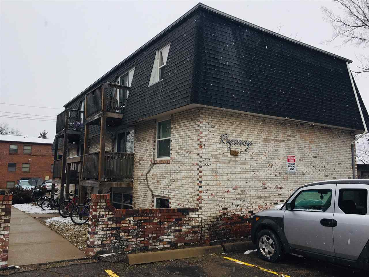Here is your chance to own a great investment property in a prime location right next to Kansas State University and Aggieville. All 6 units are 1 bed 1 bath.  Owner pays water and trash, tenants pay electric.  Each unit has a separate meter.