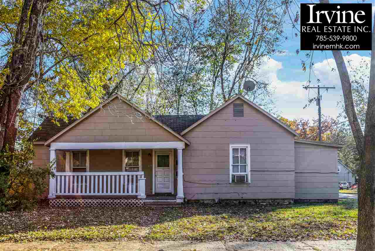 PRICED TO SELL!  Duplex!  A quick 5 minute walk to Manhattan Main Street! Rewired some updates and completely occupied until July 31 of 2020.  No vacancies in past 10+ years!  Room Measurements #1:  LR - 15' x 11'6 BR - 15' x 13'4 Kit - 15'5 x 7' Bath - 5'5 x 3'6  #2: LR - 15' x 13' BR - 14' x 11'8 Kit - 13' x 9' Bath - 7'8 x 4'7 Storage - 19' x 7'9