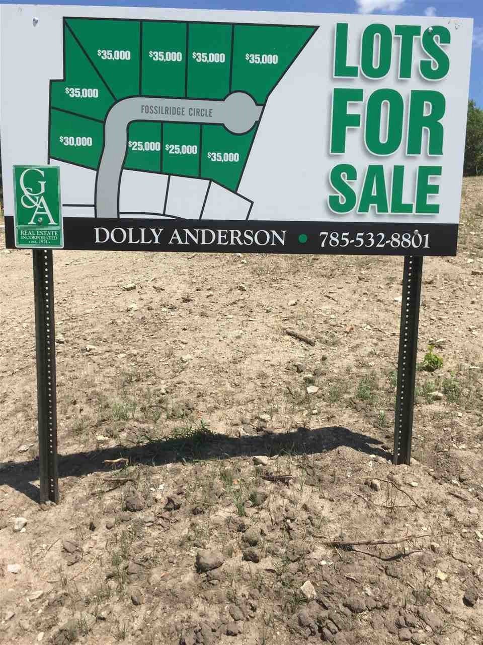 Beautiful Building Lots close to Fort Riley, Manhattan and Kansas State University -- Give me a call for additional information.      Dolly Anderson -- 785-532-8801