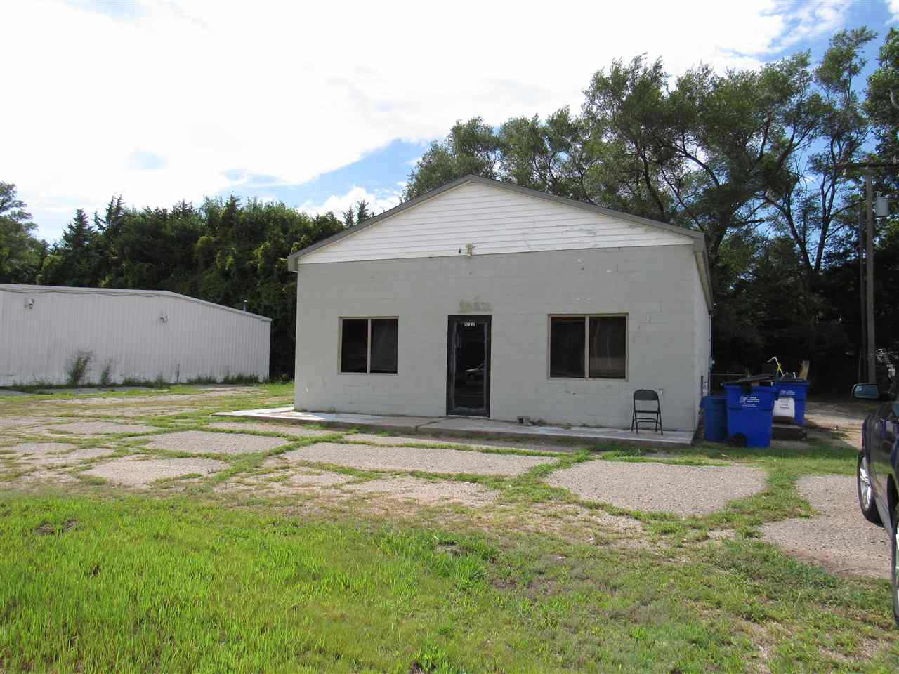 Great all purpose 1500 SF commercial building with a bathroom on Grand Ave.  Could be a retail, office, or daycare.  Easy access to Ft. Riley.  Building is for sale as-is condition. The building has tenants and lease ends Sep 1, 2021.  For more information, call Kim Portillo at 785-209-8246.