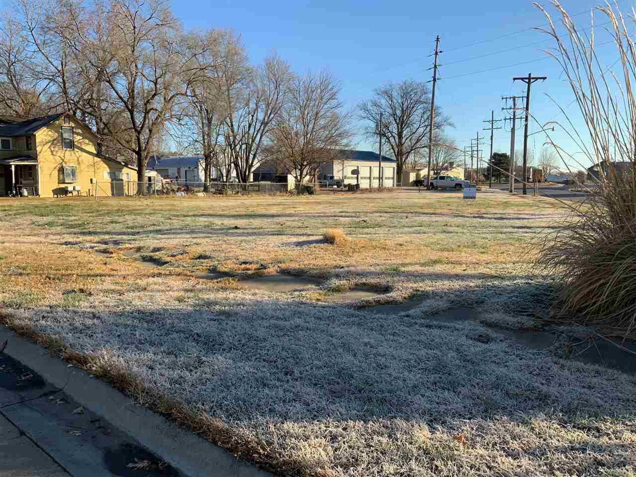 Looking to build in town? This is a rare opportunity to build in the original downtown section of Wamego. The lot sits on the corner of 3rd and Poplar.