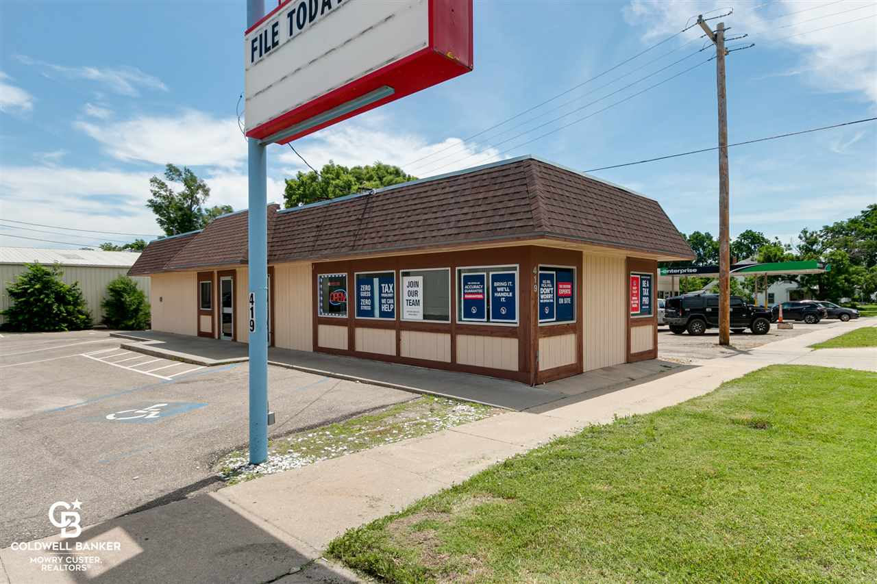 This 2 unit commercial building is located in the Junction City Central Business District.  It has a strong rental history and is located very close to the Washington St. and 6th St. intersection.  This higher traffic area boasts multiple retail outlets and a high traffic location.   There are 2 units with private entrances as well as multiple offices within each unit and a common restroom in the basement.  A commercial appraisal has already been completed to determine the value of $87000.