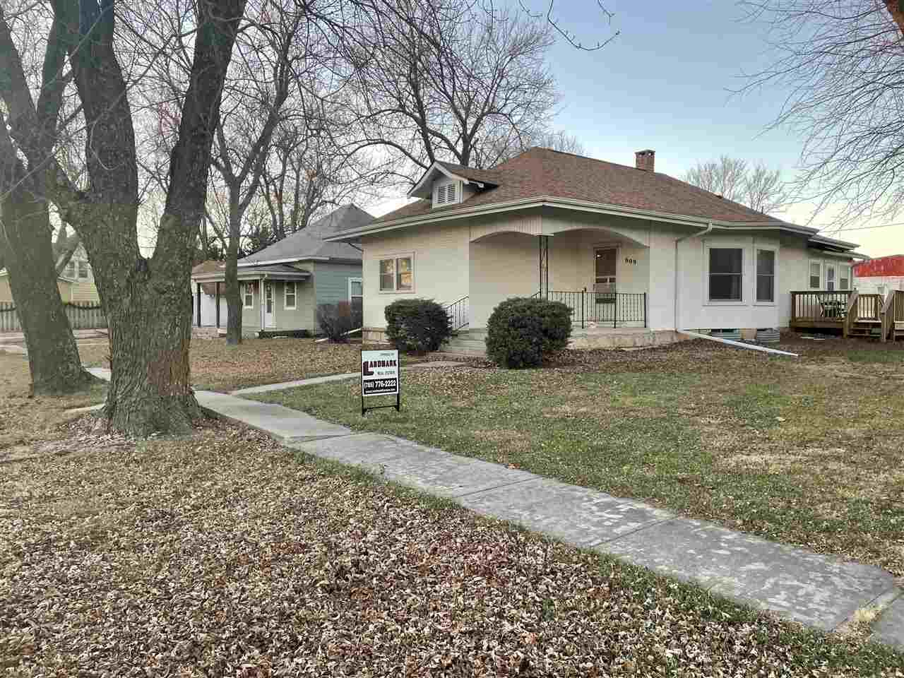 Unique opportunity for small town living.  After 71 years in the family, the owners have to move and do not miss this opportunity. Home is a 3 bedroom and 1 bath, a large detached garage/shop, and separate shred.  Lots of updates over the last 18 years and too many to list.  Bonus manual switched 5000W backup Diesel generator that comes in handy in case of black outs or rolling power outages!