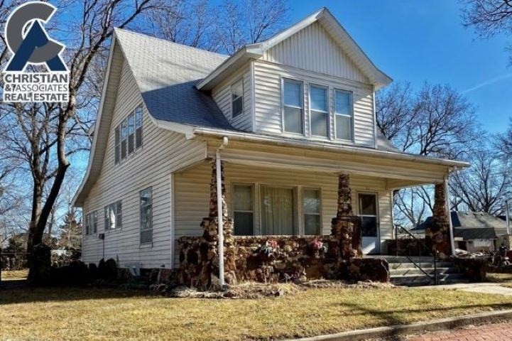 Looking to step back in time to another era, check out this bungalow home. Whether you are looking to move in and do some updates as you go or wanting to just flip it this home has lots of possibilities for someone. Rock walls and pillars add so much character to the curb appeal. Large front porch. Give Tammy a call or email to check it out 785-587-5222 x 113 or tammy@tammygoodson.com