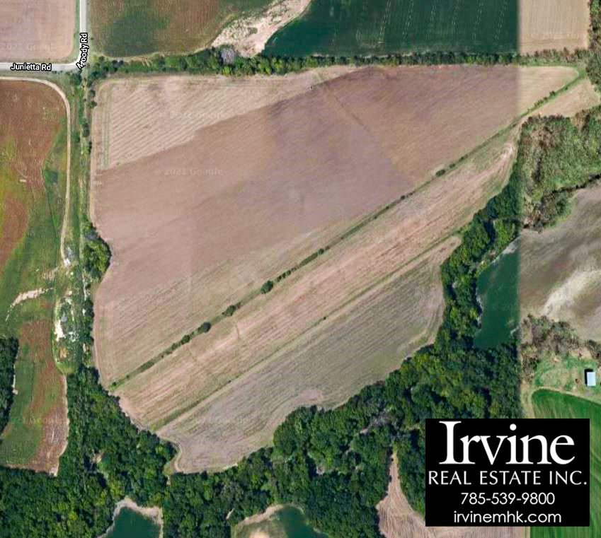 Wonderful development land in Pottawatomie County. Located beside the new Oliver Brown Elementary School and the land purchased by the school district for the new proposed High School. A fine opportunity for a developer. Call Mary Beth or Marlene Irvine: 785-341-8576