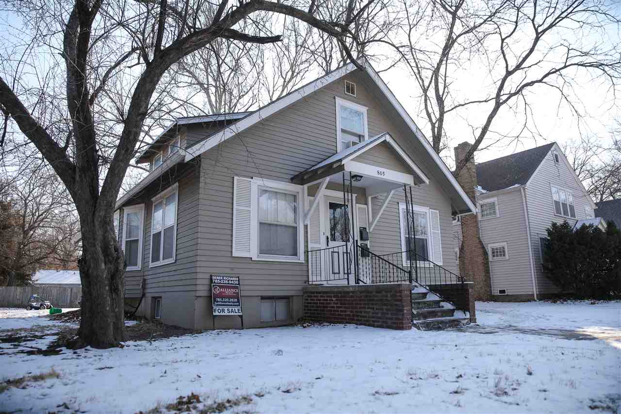 Investment opportunity located near campus and Aggieville! Both units rented out through July 2022! Call Derek Richards at 785.236.9430