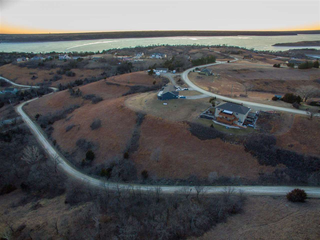 Here is the lot you have been waiting for!! Build your dream home w/ lake living at its finest! Spectacular views of the rolling hills on an almost an acre lot! This piece of property is priced to sell! Contact Casey Maransani at 620-232-0822 or casey_maransani@hotmail.com for more information.