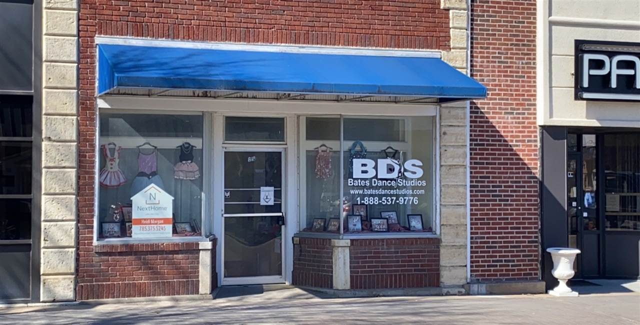 Downtown commercial building for sale.  Great location to start or expand your business with +/- 2757 square feet. Endless possibilities for the use of this space from retail, general office, specialty store or exercise studio.  For more information, Call Heidi Morgan 785-375-5245 with NextHome Unlimited.