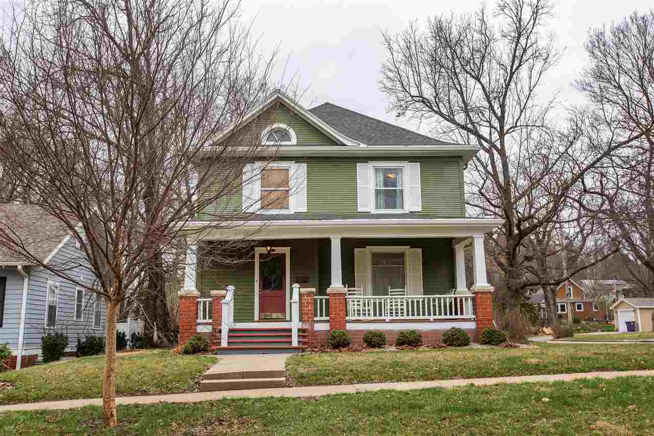 You don't want to miss this charming centrally located MHK home! This two story home built in 1912 features 5 bedrooms, 3.5 bathrooms, and a 2-car garage. Enjoy coffee on the picturesque front porch and the natural sunlight of the atrium! Immaculately maintained and ready for a new owner to give it their own character and flair! Living here puts you within walking distance to downtown MHK, City Park, and KSU. Listing brought to you by Derek Richards of Alliance Realty 785.236.9430