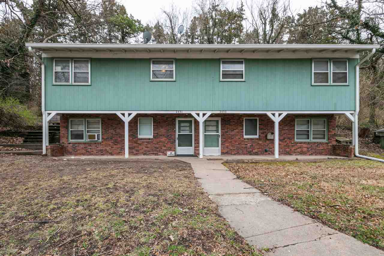 INVESTOR ALERT!!! Don't miss out on this well-maintained duplex with an excellent location close to KSU!  Both units have updated flooring and seamless gutter systems which was installed in 2016.  Current rental income is $825 (unit 2431) and $890 (unit 2433 and garage).  Don't miss out on this opportunity!  Please call Amanda Bacon @ 530-913-8220 to schedule your showing.