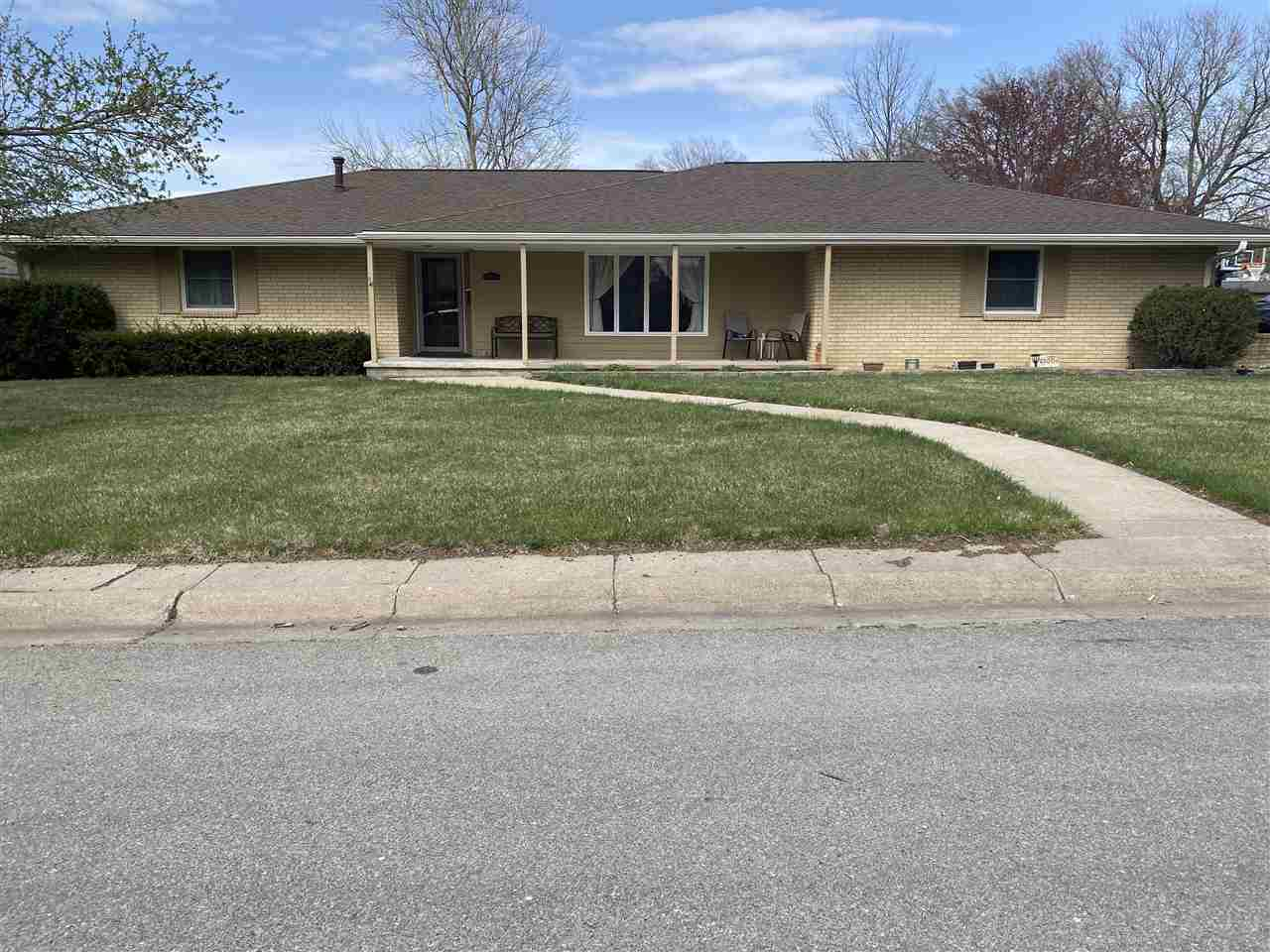 Sprawling, well maintained, beautiful 4 bedroom, 2 1/2 bath ranch home on corner lot. Fantastic kitchen open to the dining and amazing sunroom to enjoy family entertaining inside and out!  No expense was spared in the remodel of this home!  Hardwood floors, carpet, tile, bathroom vanities, shower in main bath, granite countertops and new cabinets in the kitchen, upgraded sunroom, new rooms in the basements, newer siding, newer roof and much more! This is a must see to take in all the grandeur!!  Contact Lori Rogge at 785 556 7162.