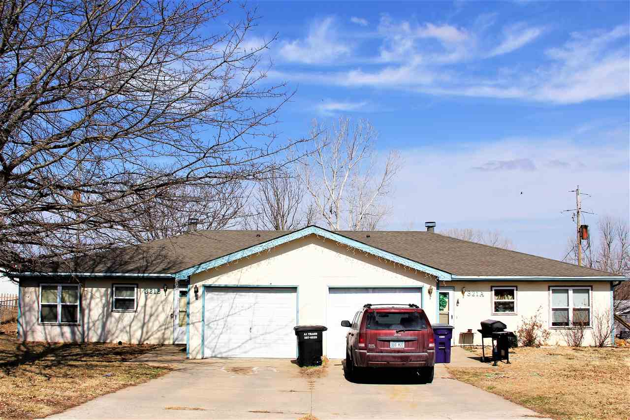 Buy as an investment of live in one side and rent out the other side to help with payment.  Both units rent for $895.00.  Lease expires on 321A 4/27/22 and 321B expires 10/27/21.  Please check with lender on financing, due to new rules!
