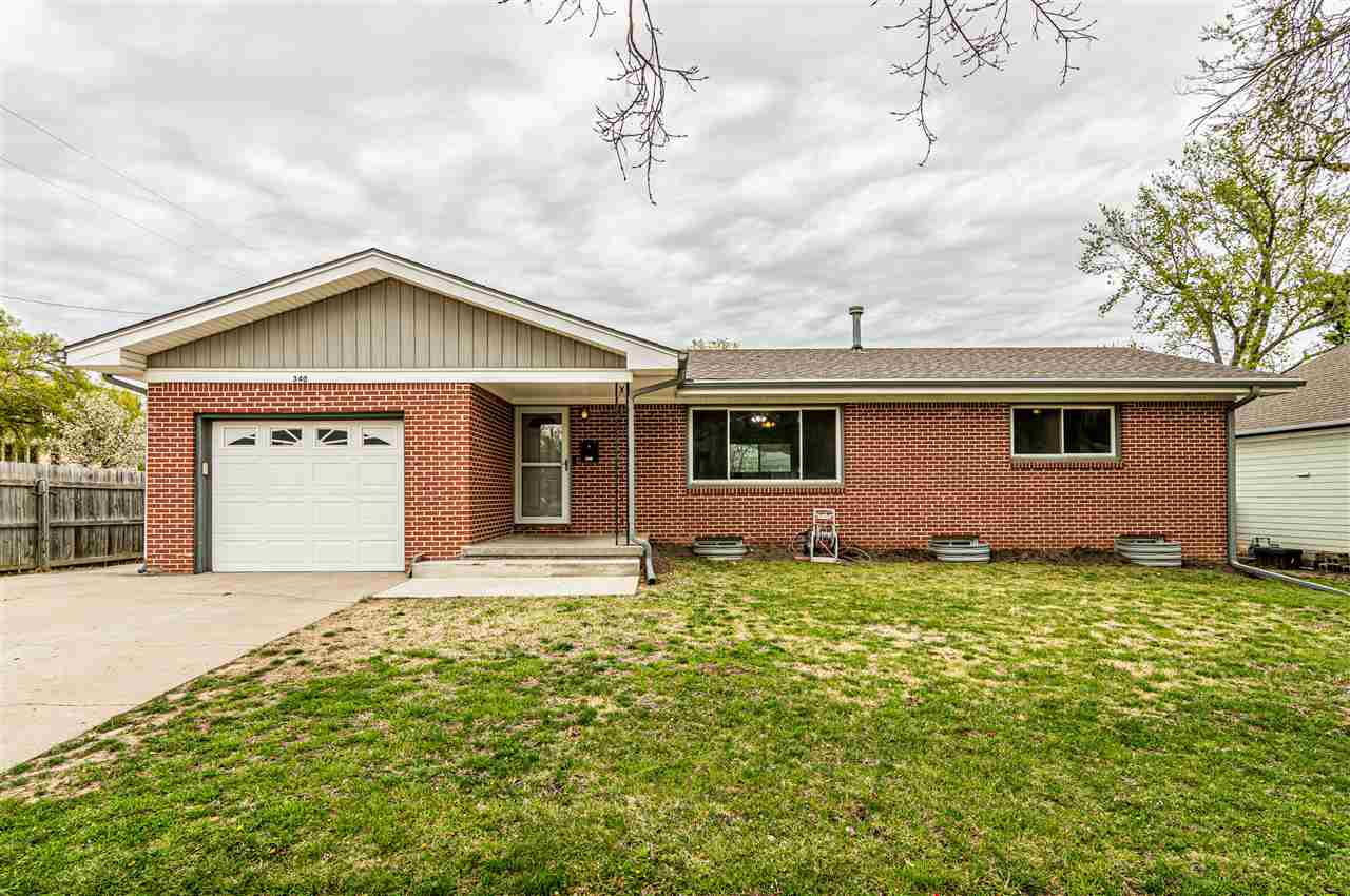Must see to appreciate this four bedroom (2 non-conforming), 2.5 bath home with a full finished basement and it is located across the street from Franklin Elementary school, close to Fort Riley and Milford Lake.  The living room is spacious and flows nicely into the dining area and kitchen, which gives it an open feel.  The laundry is on the main floor with 1/2 bath and large laundry sink.  Easy access to the private back yard to let the kids out to play or just lounge around on your spacious patio.  The roof is only 5 years old and the windows and storm doors have been updated in the last several years. You will appreciate the space that the corner lot offers in addition to, two additional parking pads.  For more information or to schedule a time to view this property, call or text Heidi Morgan with NextHome Unlimited at 785-375-5245.