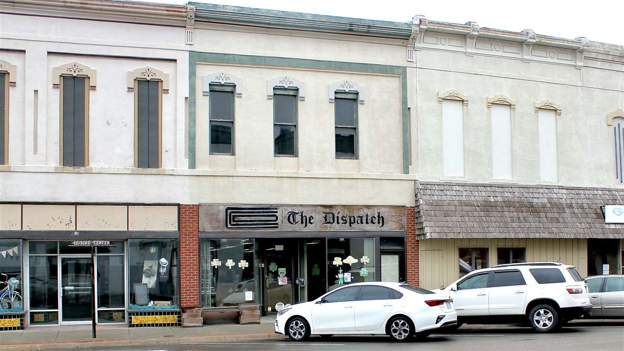Incredible investment opportunity to own downtown property in Clay Center with existing Newspaper tenant at cap rate 10% under tripe net lease.  Two downtown main street building and land.  805 5th St and 429 Court St.  Upstairs of the building not use and potential for another business.  Call George Joseph for more details at 785-430-6967.