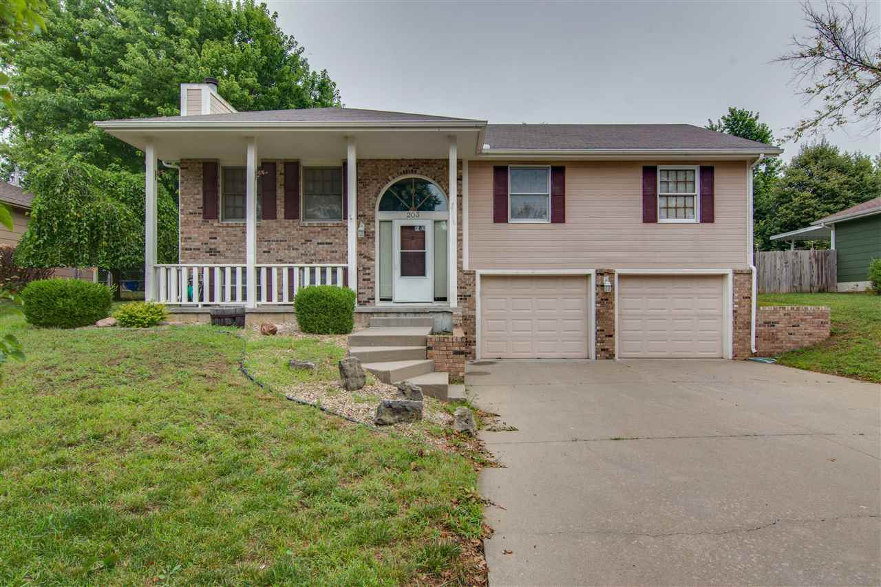 No Specials!! This well maintained 3 bedroom, two and half bath home is located in an established and desirable neighborhood. Close to Ft Riley and Milford Lake. Oversized kitchen and living room w/ large dining room area for entertaining with French doors that lead out to a large fenced in backyard and patio. Roomy Master suit! Downstairs features a wood burning fireplace with a very spacious additional living room. This home will not last long in this area with this fantastic price. Contact Casey Maransani at 620-232-0822 or casey_maransani@hotmail.com for your private tour.
