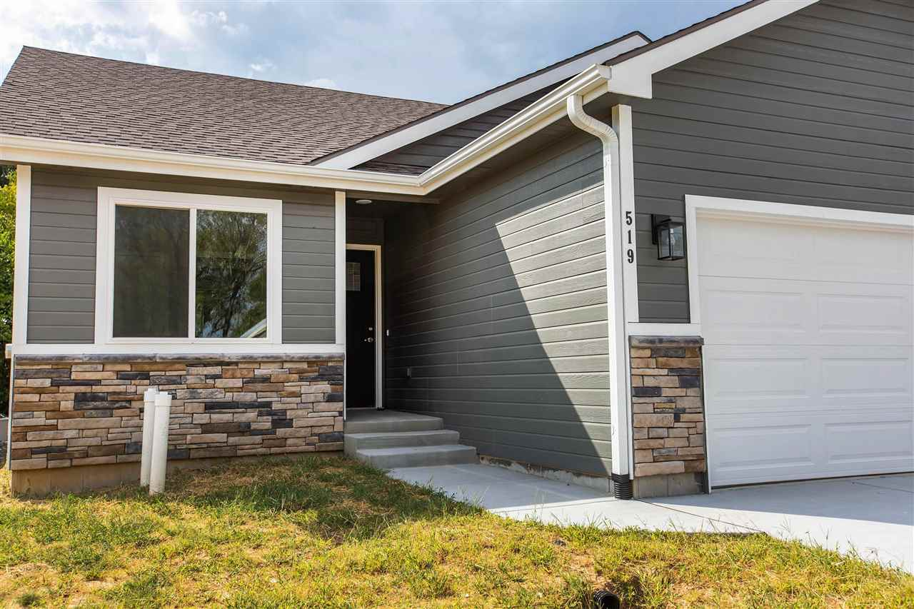 Half-duplex opportunity in Grand Oaks Addition. 2 Bed, 2 Bath, w/lowerLVL familyRM finished (at asking price) by Drippe Homes. Full-partial finished basement w/egress windows, for optional finish of 1 more BR (=3 total conforming), +1 full BA (=3 total). Wooded lot & backyard w/deck walks-off from kitchen/dining combo. Vaulted ceiling in main area displays desirable open floor plan. Master BR w/master bath, dual sink raised vanity & full-shower, enters into walk-in closet. Kitchen is the focal point which displays granite countertops, center eat-in island, stylish backsplash, tuxedo-tone shaker style custom cabinetry, graphite tone hardware, chrome fixtures, on-trend lighting, farmhouse sink, and Stainless GE kitchen appliance package included. Quality finishes throughout, w/LVT & ceramic tile floors. Insulated 2car garage. Concrete Patio. Near Hwy24 & Pott County Lake. Easy commute to I-70. Energy Efficient. Taxes est. for 2021. Ask for bsmt finish pricing. Rock Creek School District.