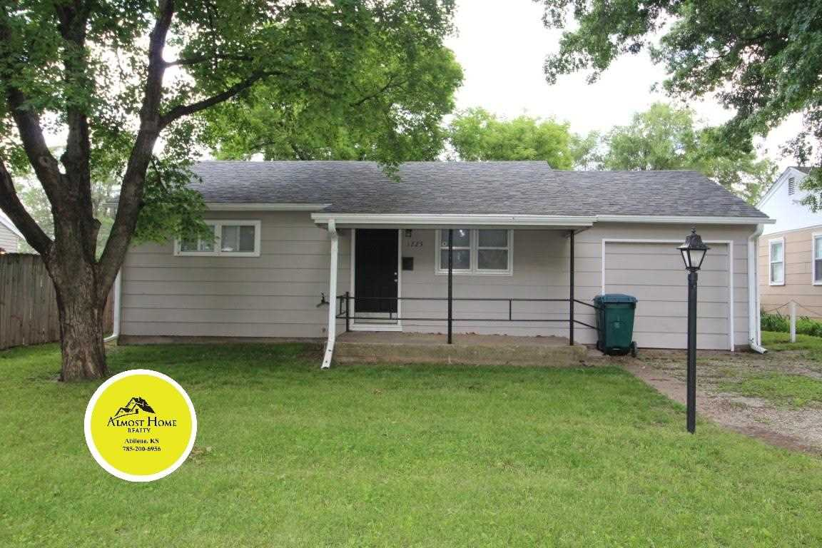 Turnkey small home waiting to be yours. Cute 2 bedroom 1 bath home. Unfinished basement with exterior entrance only. Oak hardwood floors, cute and clean. 1 car attached garage, fenced in back yard. Give Shelly with Almost Home Realty a call today to set up your appt to call this one your own. 785-263-5028