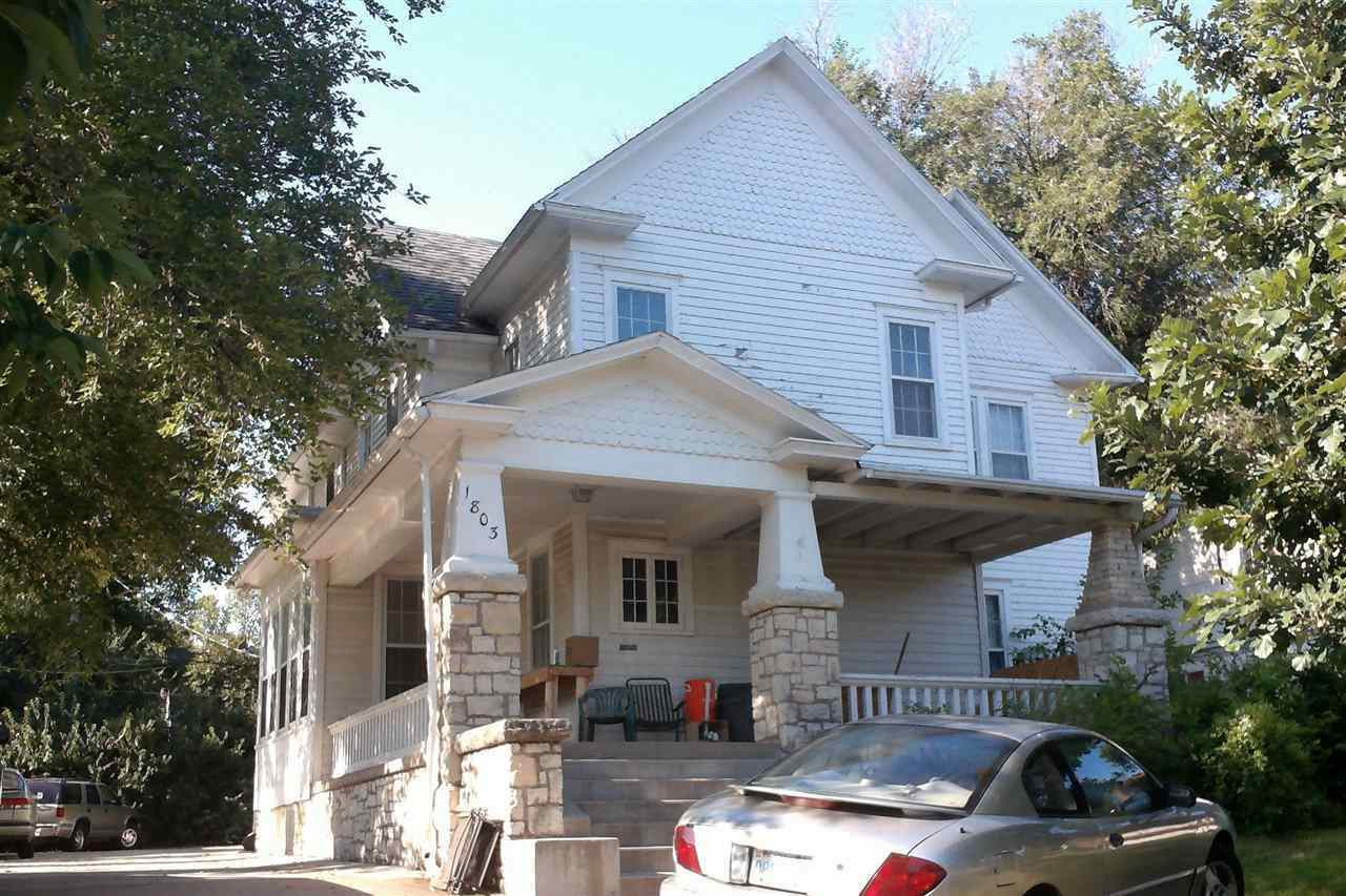 Amazing investment opportunity catercorner from Kansas State University!!  4 Different converted homes w/ great off street parking! Great rental history! Tenants Pay for utilities.  1803, 1815, 1821, 1825 Anderson Avenue. 1803- 5 BR, 3 BA 1815- 5 BR, 4 BA 1821- 5 BR, 4 BA 1825- 5 BR, 3 BA