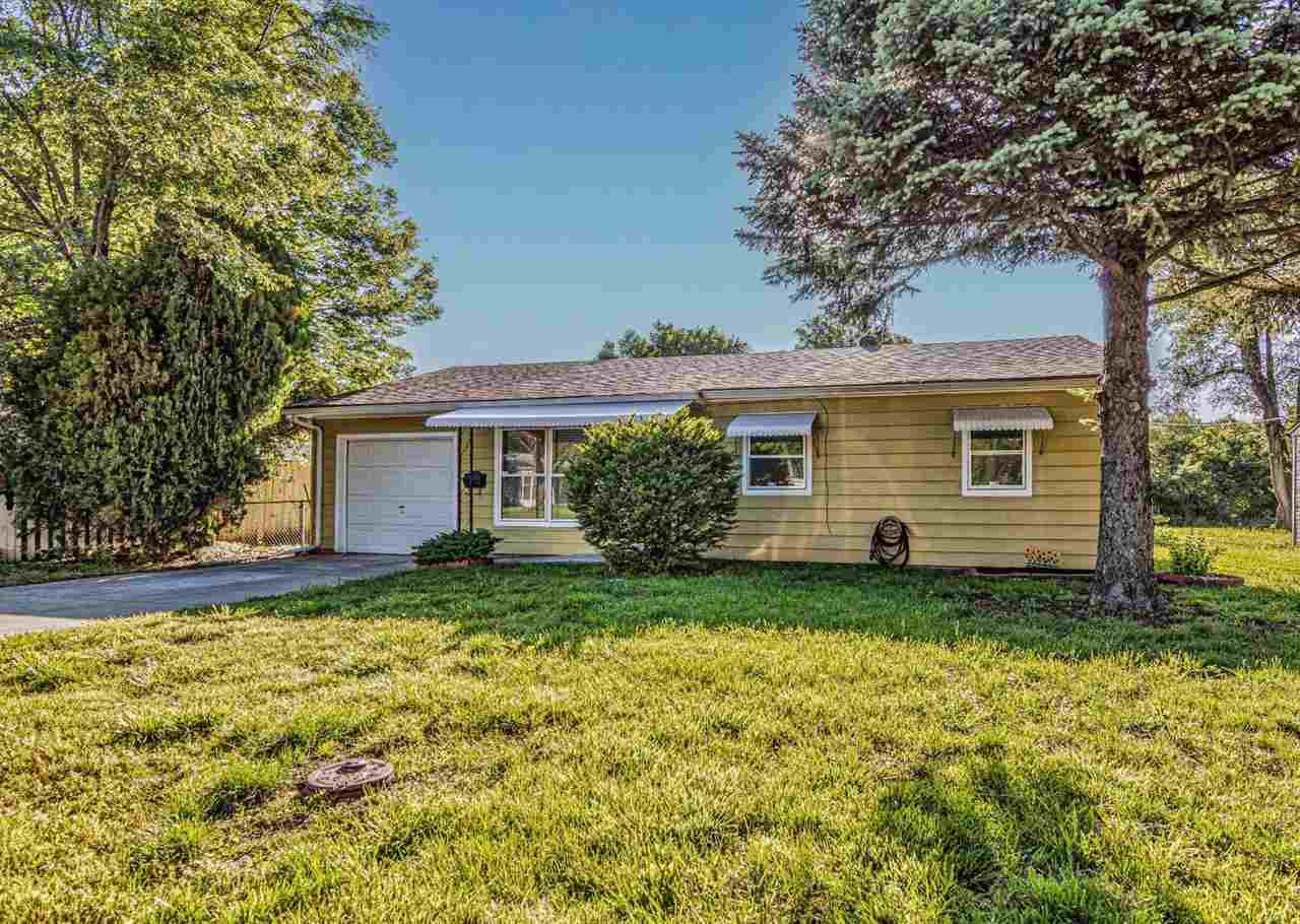 STOP! No need to look any further, because you have just found HOME! This beautiful property was tastefully updated with love and is now ready for its new owners to create memories. It's such a charming 3 bed, 1 bath, 1 car ranch home with good daylight exposure, a patio in the tranquil fenced backyard and a wide driveway for extra off road parking. Located in an established neighborhood  near the old Highschool Stadium. The roof is approximately 5 years old, property taxes are low and to top it off, the seller is offering a Home Warranty by Americas Preferred Home Warranty, Inc. for your peace of mind.  Ready to make a move? Call/ text Sabine Butler at 785-307-0703 for your in person or virtual showing! You can also check out the virtual tour from the comfort of your home. This fabulous listing is brought to you by Sabine Butler and NextHome Unlimited.
